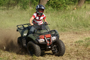 Picture of quad biking