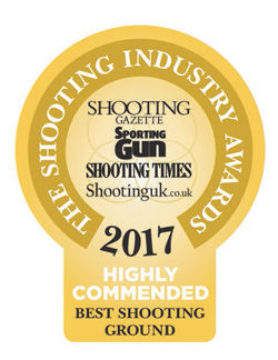 Highly Commended - Best Shooting Ground 2017