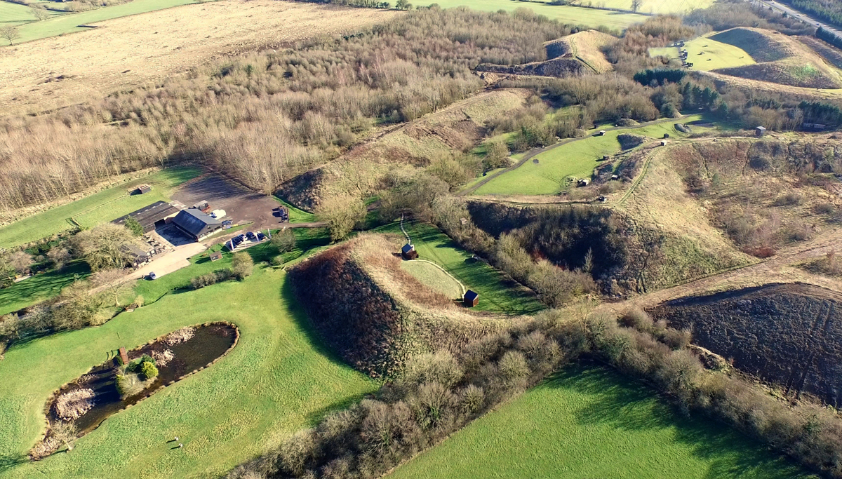 Aerial photo of the OGC Shooting Grounds