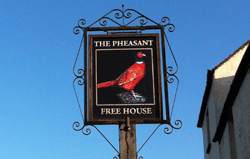 The Pheasant at Brill