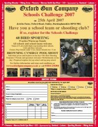 Schools Challenge 2007 - 25th April