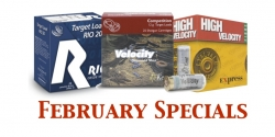 February Cartridge Specials