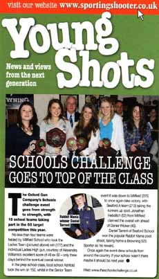 New Schools Challenge magazine articles