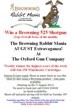 Rabbit Mania August Extravaganza