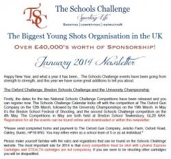 TSC Jan 2014 Newsletter