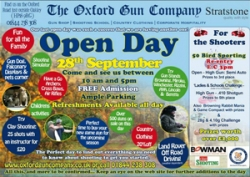Open Day - Sat 28th Sep 2013
