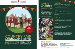 Bredon Country Fair & Festival of Shooting - Mon 5th May
