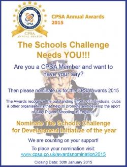 CPSA Awards - VOTE FOR TSC!