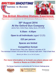 British Olympic Shooting - 30th August
