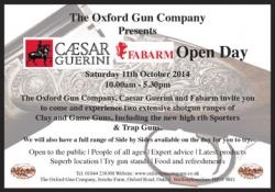 Caesar Guerini & Fabarm Open Day