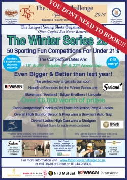 Winter Series Competition - Under 21s
