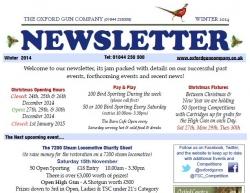 Newsletter - Winter 2014