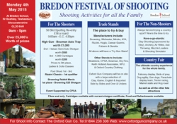 Bredon Festival of Shooting 2015!