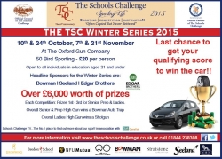 TSC Winter Series 2015 - LAST CHANCE!