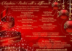 Christmas Parties 2015 - BOOK NOW!