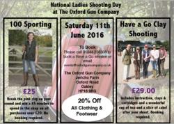 National Ladies Shooting Day