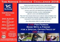 Novice TSC - Instruction Days