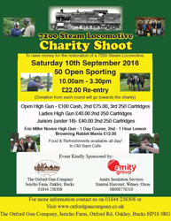 Charity Shoot - 10th September!