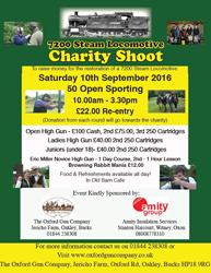 Charity Shoot - 10th September!