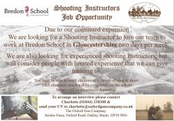 Shooting Instructors - job opportunties