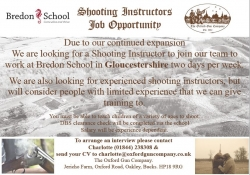 Shooting Instructors - job opportunties