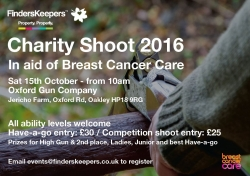 Finders Keepers Charity Shoot