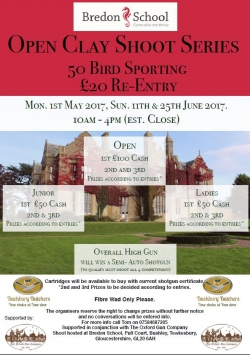 Bredon Open Clay Shoot Series