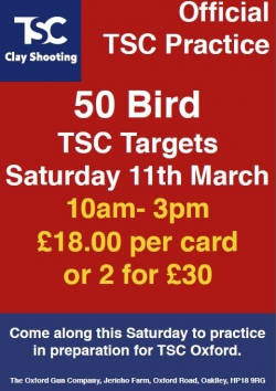 TSC Official Practice - 11th Mar