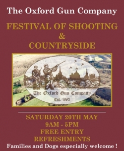 Festival of Shooting 20th May 2017