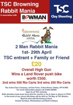 TSC Rabbit Mania April 2017