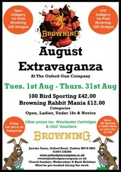 August Extravaganza