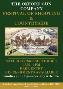 Festival of Shooting 23rd Sep 2017