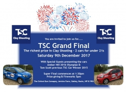 TSC Grand Final - 9th Dec