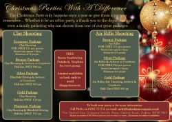 Christmas parties with a difference!