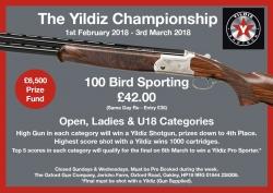 The Yildiz Championship - Feb 2018