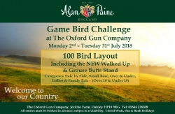 Alan Paine Game Bird Challenge poster