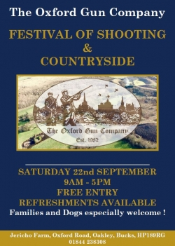 Festival of Shooting 22<sup>nd</sup> Sep 2018