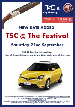 New TSC Competition at The Festival