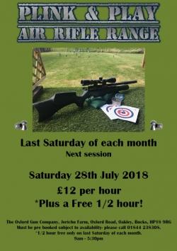 Plink & Play - Air Rifle Range