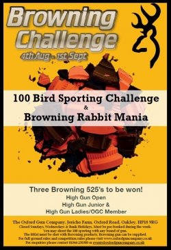 Browning Challenge, August