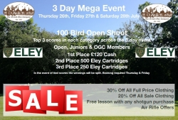 3 Day Mega Event - 26,27,28th July