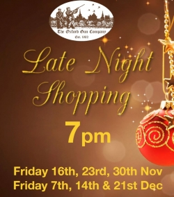 Late Night Shopping - Nov/Dec