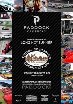 Festival Paddock Paradiso flyer