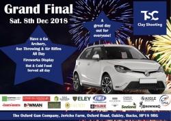 TSC Grand Final - 8th Dec