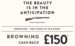 £150 Browning Cash Back!