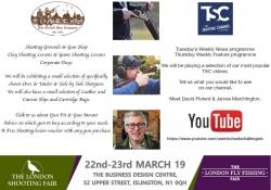 London Shooting Fair - visit us!