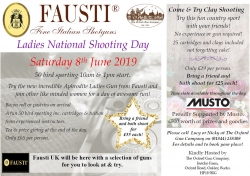 Ladies` Shooting Day 8th June