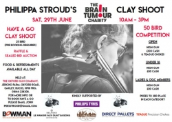 Philippa Stroud`s Charity Shoot 29th June
