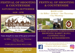 Festival of Shooting 7<sup>th</sup> Sep 2019