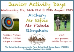 Junior Activity Days - August